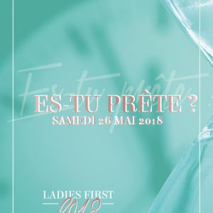 Participation conférence Ladies First 2018